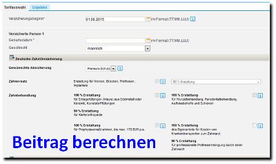 deutsche-zahnversicherung-online-berechnen