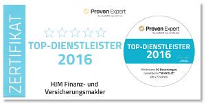 HJM Top Dienstleister 2016
