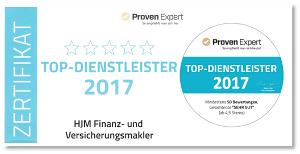 HJM Top Dienstleister 2017