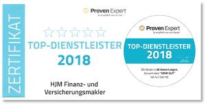 HJM Top Dienstleister 2018
