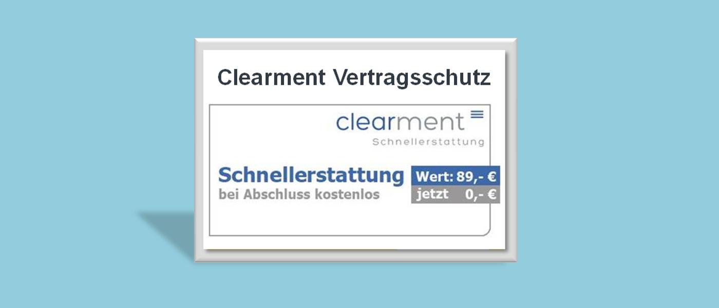 Clearment Schutzbrief für Ihre Zahnversicherung