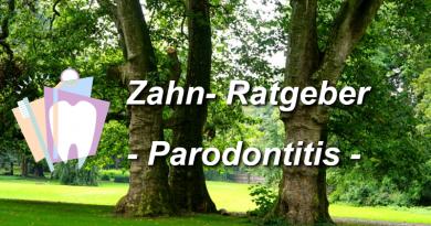 Zahnratgeber Parodontitis