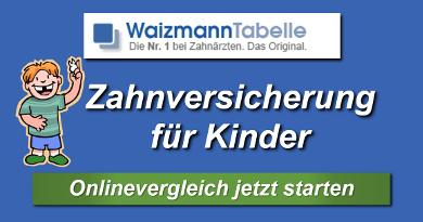 Waizmann Tabelle für Kinder